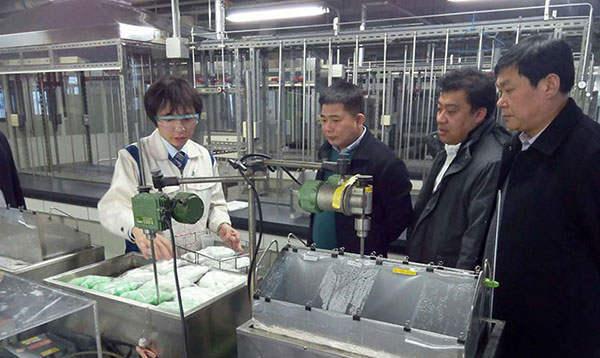 东大领导赴日本考察学习