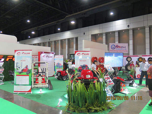 泰国SIMA农业展会一角