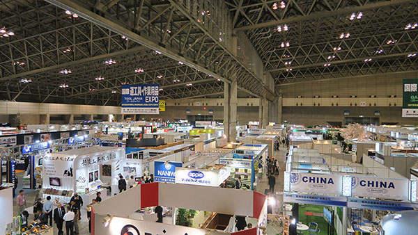 日本国际农业展会一角