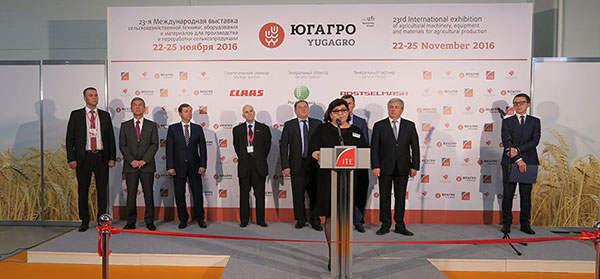 俄罗斯国际农业展会现场