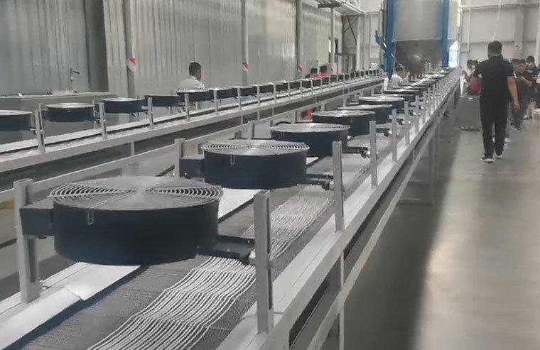 公司领导带队参观学习全生物降解材料的改性生产